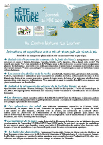 flyer fête de la nature 2018