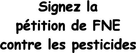 pétition France Nature Environnement